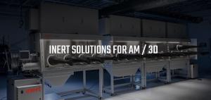 金属粉末を取り扱うための密封容器とガスマネージメントシステム
